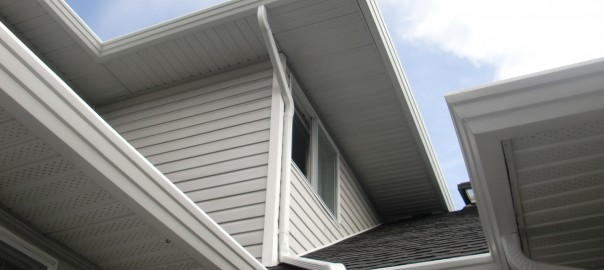 Right Gutter and Downpipe Material