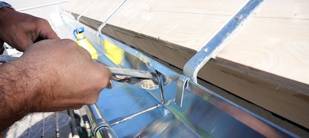 The Advantages With A Rain Gutter Installation
